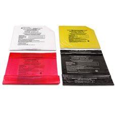 Пакеты для утилизации 10 л 330*600 мм (классы А, Б, В, Г)