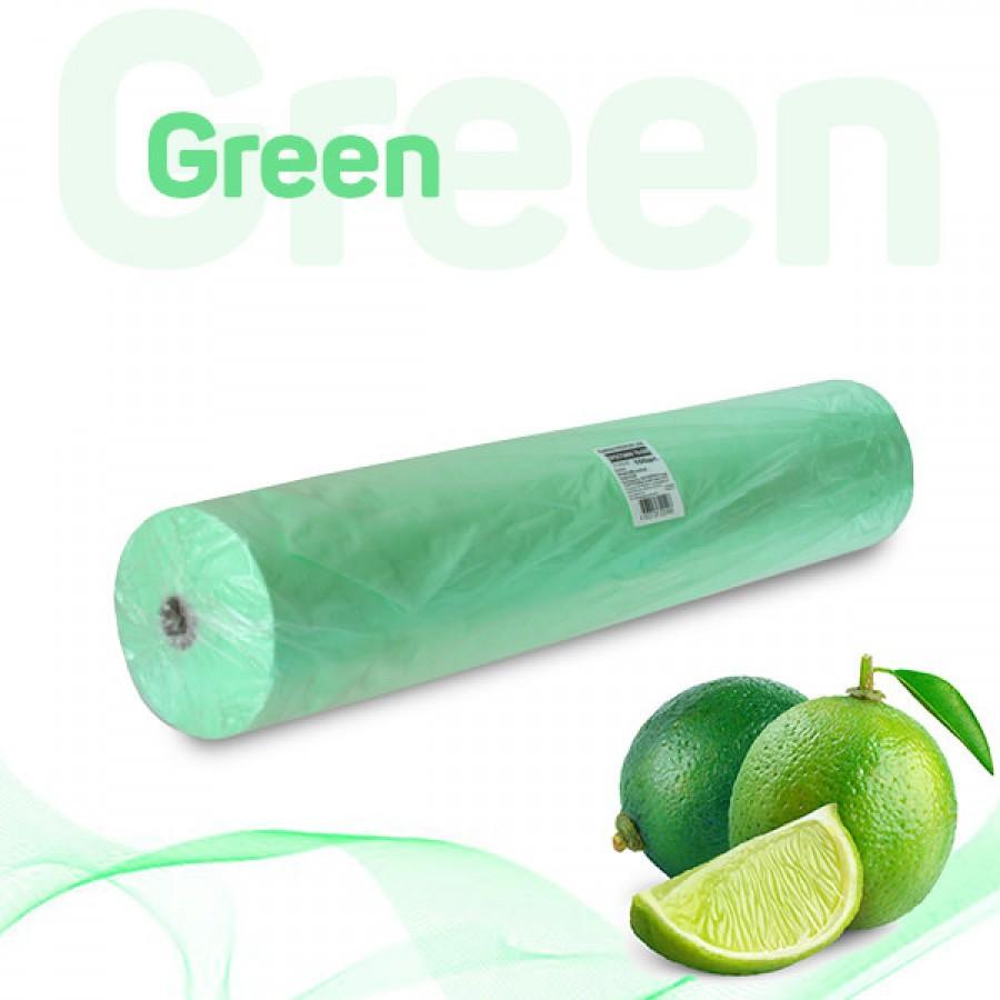Простыни 70*200 в рулоне зелёный 17 г/м2