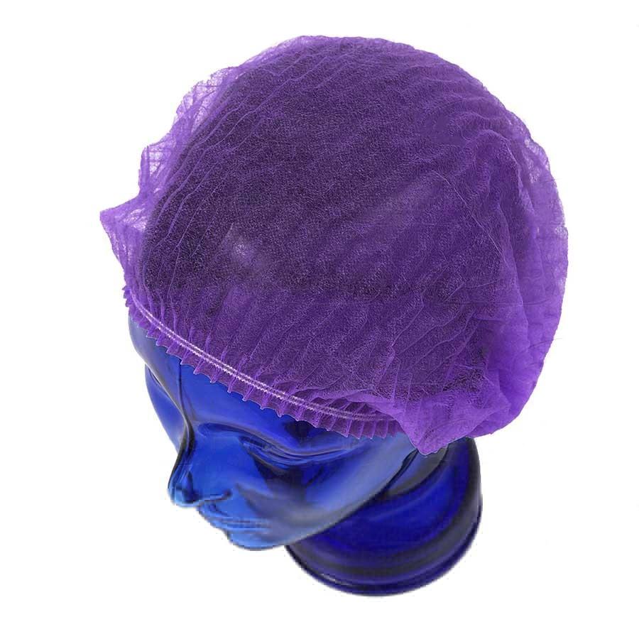 Медицинская шапочка Шарлотта (фиолетовая)