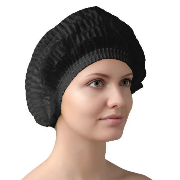 Медицинская шапочка Шарлотта (черная)